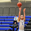 Hamilton College guard Joe Pucci (3)<br /> <br /> 11/28/17 7:08:44 PM Men's Basketball: SUNY New Paltz v Hamilton College at Margaret Bundy Scott Field House, Hamilton College, Clinton, NY<br /> <br /> Final:  SUNY New Paltz 66   Hamilton 104 <br /> <br /> Photo by Josh McKee