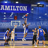 Tip-off<br /> <br /> 11/28/17 7:03:57 PM Men's Basketball: SUNY New Paltz v Hamilton College at Margaret Bundy Scott Field House, Hamilton College, Clinton, NY<br /> <br /> Final:  SUNY New Paltz 66   Hamilton 104 <br /> <br /> Photo by Josh McKee