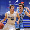 Hamilton College forward Peter Hoffmann (30)<br /> <br /> 2/17/18 3:14:43 PM Men's Basketball- NESCAC Championship Quarterfinal:  Tufts University v #15 Hamilton College at Margaret Bundy Scott Field House, Hamilton College, Clinton, NY<br /> <br /> Final: Tufts 82  #15 Hamilton 91<br /> <br /> Photo by Josh McKee