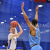 Hamilton College guard Tim Doyle (0)<br /> <br /> 2/17/18 3:06:12 PM Men's Basketball- NESCAC Championship Quarterfinal:  Tufts University v #15 Hamilton College at Margaret Bundy Scott Field House, Hamilton College, Clinton, NY<br /> <br /> Final: Tufts 82  #15 Hamilton 91<br /> <br /> Photo by Josh McKee