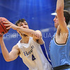 Hamilton College forward Andrew Groll (44)<br /> <br /> 2/17/18 3:09:42 PM Men's Basketball- NESCAC Championship Quarterfinal:  Tufts University v #15 Hamilton College at Margaret Bundy Scott Field House, Hamilton College, Clinton, NY<br /> <br /> Final: Tufts 82  #15 Hamilton 91<br /> <br /> Photo by Josh McKee