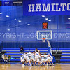 Team<br /> <br /> 2/17/18 3:02:51 PM Men's Basketball- NESCAC Championship Quarterfinal:  Tufts University v #15 Hamilton College at Margaret Bundy Scott Field House, Hamilton College, Clinton, NY<br /> <br /> Final: Tufts 82  #15 Hamilton 91<br /> <br /> Photo by Josh McKee