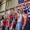 Crowd<br /> <br /> 2/17/18 3:06:44 PM Men's Basketball- NESCAC Championship Quarterfinal:  Tufts University v #15 Hamilton College at Margaret Bundy Scott Field House, Hamilton College, Clinton, NY<br /> <br /> Final: Tufts 82  #15 Hamilton 91<br /> <br /> Photo by Josh McKee