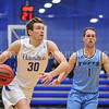 Hamilton College forward Peter Hoffmann (30)<br /> <br /> 2/17/18 3:12:49 PM Men's Basketball- NESCAC Championship Quarterfinal:  Tufts University v #15 Hamilton College at Margaret Bundy Scott Field House, Hamilton College, Clinton, NY<br /> <br /> Final: Tufts 82  #15 Hamilton 91<br /> <br /> Photo by Josh McKee