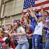 Crowd<br /> <br /> 2/17/18 3:16:11 PM Men's Basketball- NESCAC Championship Quarterfinal:  Tufts University v #15 Hamilton College at Margaret Bundy Scott Field House, Hamilton College, Clinton, NY<br /> <br /> Final: Tufts 82  #15 Hamilton 91<br /> <br /> Photo by Josh McKee