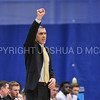 Hamilton College head coach Adam Stockwell<br /> <br /> 2/17/18 3:10:47 PM Men's Basketball- NESCAC Championship Quarterfinal:  Tufts University v #15 Hamilton College at Margaret Bundy Scott Field House, Hamilton College, Clinton, NY<br /> <br /> Final: Tufts 82  #15 Hamilton 91<br /> <br /> Photo by Josh McKee