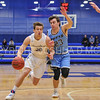 Hamilton College forward Peter Hoffmann (30)<br /> <br /> 2/17/18 3:14:42 PM Men's Basketball- NESCAC Championship Quarterfinal:  Tufts University v #15 Hamilton College at Margaret Bundy Scott Field House, Hamilton College, Clinton, NY<br /> <br /> Final: Tufts 82  #15 Hamilton 91<br /> <br /> Photo by Josh McKee
