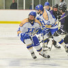 Hamilton College forward Brandon Willett (9)<br /> <br /> 1/20/18 7:07:57 PM Men's Hockey: Amherst College v Hamilton College at Russell Sage Rink, Hamilton College, Clinton, NY<br /> <br /> Photo by Josh McKee