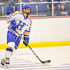 Hamilton College forward T.J. Daigler (20)<br /> <br /> 1/20/18 6:31:46 PM Men's Hockey: Amherst College v Hamilton College at Russell Sage Rink, Hamilton College, Clinton, NY<br /> <br /> Photo by Josh McKee