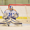 Hamilton College goaltender Anthony Tirabassi (34)<br /> <br /> 1/20/18 6:31:02 PM Men's Hockey: Amherst College v Hamilton College at Russell Sage Rink, Hamilton College, Clinton, NY<br /> <br /> Photo by Josh McKee