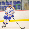 Hamilton College defender Stephen Cochrane (2)<br /> <br /> 1/20/18 6:32:00 PM Men's Hockey: Amherst College v Hamilton College at Russell Sage Rink, Hamilton College, Clinton, NY<br /> <br /> Photo by Josh McKee