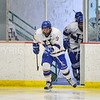 Hamilton College forward Brandon Willett (9)<br /> <br /> 2/3/18 2:25:27 PM Men's Hockey:  Bowdoin College v Hamilton College at Sage Rink, Hamilton College, Clinton, NY<br /> <br /> Final:  Bowdoin 3  Hamilton 5<br /> <br /> Photo by Josh McKee