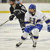 Hamilton College forward Jon Stickel (27)<br /> <br /> 2/3/18 3:05:17 PM Men's Hockey:  Bowdoin College v Hamilton College at Sage Rink, Hamilton College, Clinton, NY<br /> <br /> Final:  Bowdoin 3  Hamilton 5<br /> <br /> Photo by Josh McKee