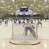 Team, Sage Rink, Warm-ups<br /> <br /> 2/3/18 2:37:40 PM Men's Hockey:  Bowdoin College v Hamilton College at Sage Rink, Hamilton College, Clinton, NY<br /> <br /> Final:  Bowdoin 3  Hamilton 5<br /> <br /> Photo by Josh McKee