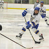 Hamilton College forward Brandon Willett (9)<br /> <br /> 2/3/18 3:03:06 PM Men's Hockey:  Bowdoin College v Hamilton College at Sage Rink, Hamilton College, Clinton, NY<br /> <br /> Final:  Bowdoin 3  Hamilton 5<br /> <br /> Photo by Josh McKee