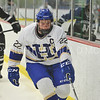 Hamilton College forward Tyler Bruneteau (22)<br /> <br /> 2/3/18 3:05:05 PM Men's Hockey:  Bowdoin College v Hamilton College at Sage Rink, Hamilton College, Clinton, NY<br /> <br /> Final:  Bowdoin 3  Hamilton 5<br /> <br /> Photo by Josh McKee