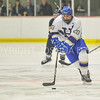 Hamilton College forward T.J. Daigler (20)<br /> <br /> 12/2/17 7:05:26 PM Men's Hockey:  Trinity College v Hamilton College at Russell Sage Rink, Hamilton College, Clinton, NY<br /> <br /> FINAL:  Trinity 1  Hamilton 0<br /> <br /> Photo by Josh McKee