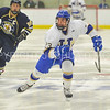 Hamilton College forward Ian Nichols (23)<br /> <br /> 12/2/17 7:03:44 PM Men's Hockey:  Trinity College v Hamilton College at Russell Sage Rink, Hamilton College, Clinton, NY<br /> <br /> FINAL:  Trinity 1  Hamilton 0<br /> <br /> Photo by Josh McKee
