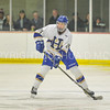 Hamilton College defender Blayne Oliver (24)<br /> <br /> 12/2/17 7:05:48 PM Men's Hockey:  Trinity College v Hamilton College at Russell Sage Rink, Hamilton College, Clinton, NY<br /> <br /> FINAL:  Trinity 1  Hamilton 0<br /> <br /> Photo by Josh McKee