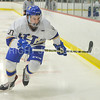 Hamilton College forward Rory Gagnon (10)<br /> <br /> 12/2/17 7:05:39 PM Men's Hockey:  Trinity College v Hamilton College at Russell Sage Rink, Hamilton College, Clinton, NY<br /> <br /> FINAL:  Trinity 1  Hamilton 0<br /> <br /> Photo by Josh McKee