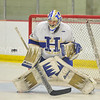 Hamilton College goaltender Evan Buitenhuis (29)<br /> <br /> 12/2/17 6:28:47 PM Men's Hockey:  Trinity College v Hamilton College at Russell Sage Rink, Hamilton College, Clinton, NY<br /> <br /> FINAL:  Trinity 1  Hamilton 0<br /> <br /> Photo by Josh McKee