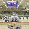 Hamilton College goaltender Evan Buitenhuis (29)<br /> <br /> 12/2/17 6:58:39 PM Men's Hockey:  Trinity College v Hamilton College at Russell Sage Rink, Hamilton College, Clinton, NY<br /> <br /> FINAL:  Trinity 1  Hamilton 0<br /> <br /> Photo by Josh McKee