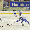 Hamilton College forward Nick Ursitti (12)<br /> <br /> 12/2/17 7:05:50 PM Men's Hockey:  Trinity College v Hamilton College at Russell Sage Rink, Hamilton College, Clinton, NY<br /> <br /> FINAL:  Trinity 1  Hamilton 0<br /> <br /> Photo by Josh McKee