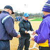 Hamilton College head coach Kate Refsnyder<br /> <br /> 3/30/18 3:44:14 PM Softball: #14 Williams College v. Hamilton College, at Loop Road Softball/Baseball Complex, Hamilton College, Clinton, NY<br /> <br /> Final: #14 Williams 2   Hamilton 4<br /> <br /> Photo by Josh McKee