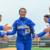 Hamilton College infielder Sophia Cerreta (25)<br /> <br /> 3/30/18 3:52:03 PM Softball: #14 Williams College v. Hamilton College, at Loop Road Softball/Baseball Complex, Hamilton College, Clinton, NY<br /> <br /> Final: #14 Williams 2   Hamilton 4<br /> <br /> Photo by Josh McKee