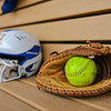 Ball, Mitt, Helmet<br /> <br /> 3/30/18 3:35:38 PM Softball: #14 Williams College v. Hamilton College, at Loop Road Softball/Baseball Complex, Hamilton College, Clinton, NY<br /> <br /> Final: #14 Williams 2   Hamilton 4<br /> <br /> Photo by Josh McKee