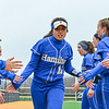 Hamilton College UTL Helen Lin (11)<br /> <br /> 3/30/18 3:51:50 PM Softball: #14 Williams College v. Hamilton College, at Loop Road Softball/Baseball Complex, Hamilton College, Clinton, NY<br /> <br /> Final: #14 Williams 2   Hamilton 4<br /> <br /> Photo by Josh McKee
