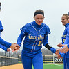 Hamilton College infielder Phoebe Collins (10)<br /> <br /> 3/30/18 3:52:23 PM Softball: #14 Williams College v. Hamilton College, at Loop Road Softball/Baseball Complex, Hamilton College, Clinton, NY<br /> <br /> Final: #14 Williams 2   Hamilton 4<br /> <br /> Photo by Josh McKee