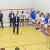 12/2/17 11:09:47 AM Hamilton College Squash v Bowdoin College at Little Squash Center, Hamilton College, Clinton, NY<br /> <br /> Photo by Josh McKee