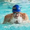 1/28/18 2:05:21 PM Swimming and Diving: RIT v Hamilton College at Bristol Pool, Hamilton College, Clinton, NY <br /> <br /> Photo by Josh McKee