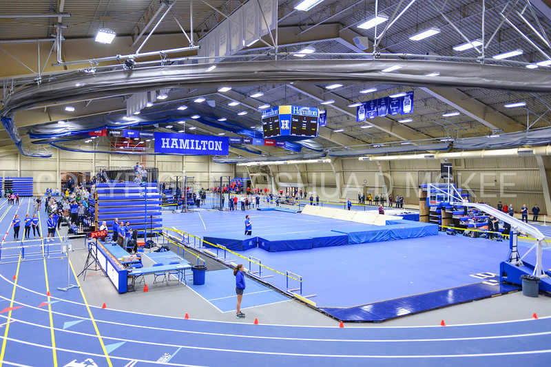 1/19/18 3:50:26 PM Hamilton College Track and Field Indoor Invitational at Margaret Bundy Scott Field House, Hamilton College, Clinton, NY <br /> <br /> Photo by Josh McKee