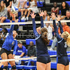 Hamilton College outside hitter Courtney Brown (6)<br /> <br /> 9/15/17 8:11:29 PM Women's Volleyball:  Connecticut College vs Hamilton College, at Margaret Bundy Scott Field House, Hamilton College, Clinton, NY<br /> <br /> Final:  Conn 1  Hamilton 3<br /> <br /> Photo by Josh McKee