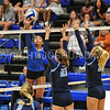 Hamilton College outside hitter Courtney Brown (6)<br /> <br /> 9/15/17 8:09:05 PM Women's Volleyball:  Connecticut College vs Hamilton College, at Margaret Bundy Scott Field House, Hamilton College, Clinton, NY<br /> <br /> Final:  Conn 1  Hamilton 3<br /> <br /> Photo by Josh McKee