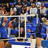 Hamilton College outside hitter Courtney Brown (6)<br /> <br /> 9/15/17 8:10:32 PM Women's Volleyball:  Connecticut College vs Hamilton College, at Margaret Bundy Scott Field House, Hamilton College, Clinton, NY<br /> <br /> Final:  Conn 1  Hamilton 3<br /> <br /> Photo by Josh McKee
