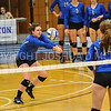 Hamilton College setter Meghan Wilkinson (10)<br /> <br /> 9/15/17 8:09:26 PM Women's Volleyball:  Connecticut College vs Hamilton College, at Margaret Bundy Scott Field House, Hamilton College, Clinton, NY<br /> <br /> Final:  Conn 1  Hamilton 3<br /> <br /> Photo by Josh McKee