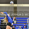Hamilton College middle blocker Dorothy Poucher (17)<br /> <br /> 10/27/17 8:28:37 PM Women's Volleyball:  Middlebury College vs Hamilton College, at Margaret Bundy Scott Field House, Hamilton College, Clinton, NY<br /> <br /> Final:  Middlebury 2   Hamilton 3<br /> <br /> Photo by Josh McKee