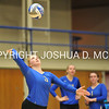 Hamilton College defensive specialist Kendall Searcy (3)<br /> <br /> 10/27/17 8:12:01 PM Women's Volleyball:  Middlebury College vs Hamilton College, at Margaret Bundy Scott Field House, Hamilton College, Clinton, NY<br /> <br /> Final:  Middlebury 2   Hamilton 3<br /> <br /> Photo by Josh McKee