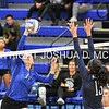 Hamilton College middle blocker Dorothy Poucher (17)<br /> <br /> 10/27/17 8:24:37 PM Women's Volleyball:  Middlebury College vs Hamilton College, at Margaret Bundy Scott Field House, Hamilton College, Clinton, NY<br /> <br /> Final:  Middlebury 2   Hamilton 3<br /> <br /> Photo by Josh McKee