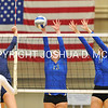 Hamilton College setter Kyndal Burdin (13)<br /> <br /> 10/27/17 8:15:45 PM Women's Volleyball:  Middlebury College vs Hamilton College, at Margaret Bundy Scott Field House, Hamilton College, Clinton, NY<br /> <br /> Final:  Middlebury 2   Hamilton 3<br /> <br /> Photo by Josh McKee