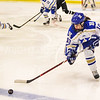 Hamilton College forward Jenna Jewell (19)<br /> <br /> 2/24/18 1:06:12 PM Women's Hockey: NESCAC Championship Quarterfinal-- Bowdoin College v Hamilton College at Russell Sage Rink, Hamilton College, Clinton, NY<br /> <br /> Final:  Bowdoin 3   Hamilton 1<br /> <br /> Photo by Josh McKee
