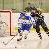 Hamilton College forward Michaela Giuttari (8)<br /> <br /> 2/24/18 1:05:13 PM Women's Hockey: NESCAC Championship Quarterfinal-- Bowdoin College v Hamilton College at Russell Sage Rink, Hamilton College, Clinton, NY<br /> <br /> Final:  Bowdoin 3   Hamilton 1<br /> <br /> Photo by Josh McKee