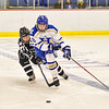 Hamilton College forward Michaela Giuttari (8)<br /> <br /> 2/24/18 1:05:20 PM Women's Hockey: NESCAC Championship Quarterfinal-- Bowdoin College v Hamilton College at Russell Sage Rink, Hamilton College, Clinton, NY<br /> <br /> Final:  Bowdoin 3   Hamilton 1<br /> <br /> Photo by Josh McKee