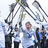Hamilton College midfielder Hannah Lease (12)<br /> <br /> 3/10/18 12:00:05 PM Women's Lacrosse:  Colby College v Hamilton College at Withiam Field, Hamilton College, Clinton, NY<br /> <br /> Final: Colby  9   Hamilton 11<br /> <br /> Photo by Josh McKee