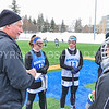 Hamilton College midfielder Hannah Lease (12), Hamilton College midfielder Darby Philbrick (13)<br /> <br /> 3/10/18 11:45:48 AM Women's Lacrosse:  Colby College v Hamilton College at Withiam Field, Hamilton College, Clinton, NY<br /> <br /> Final: Colby  9   Hamilton 11<br /> <br /> Photo by Josh McKee