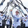 Hamilton College defender Emma Knoll (8)<br /> <br /> 3/10/18 11:59:35 AM Women's Lacrosse:  Colby College v Hamilton College at Withiam Field, Hamilton College, Clinton, NY<br /> <br /> Final: Colby  9   Hamilton 11<br /> <br /> Photo by Josh McKee
