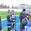Hamilton College midfielder Hannah Lease (12), Hamilton College midfielder Darby Philbrick (13)<br /> <br /> 3/10/18 11:45:40 AM Women's Lacrosse:  Colby College v Hamilton College at Withiam Field, Hamilton College, Clinton, NY<br /> <br /> Final: Colby  9   Hamilton 11<br /> <br /> Photo by Josh McKee